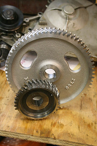 the two damaged gears