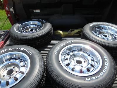 "Original wheels.  14"""