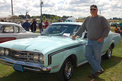 My first car show.  Dodge County Fairgrounds, September 9, 2012.