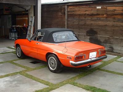 1971 Alfa Romeo Spider 1750