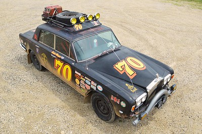1970 Silver Shadow Rally Car