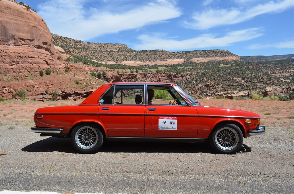 Colorado BMW Vintage Club tour, June of 1014. The car performed flawlessly with the help of a laptop ECU fuel mixture adjustment for altitude.