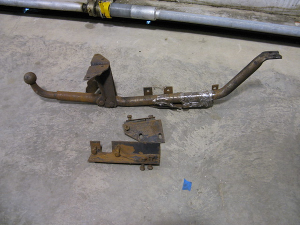 A factory E3 trailer hitch which I may use someday.