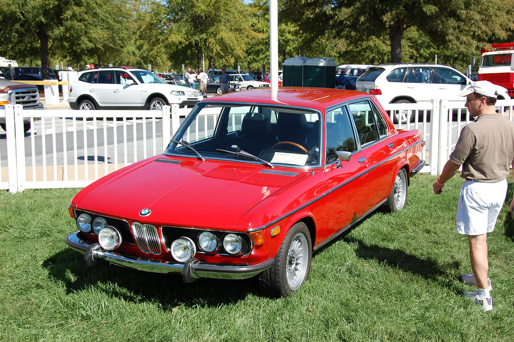 At the Euro Auto Festival on the grounds of the BMW factory in Spartanburg, 2007.