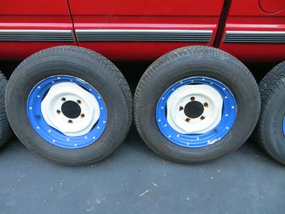 Tires, brakes