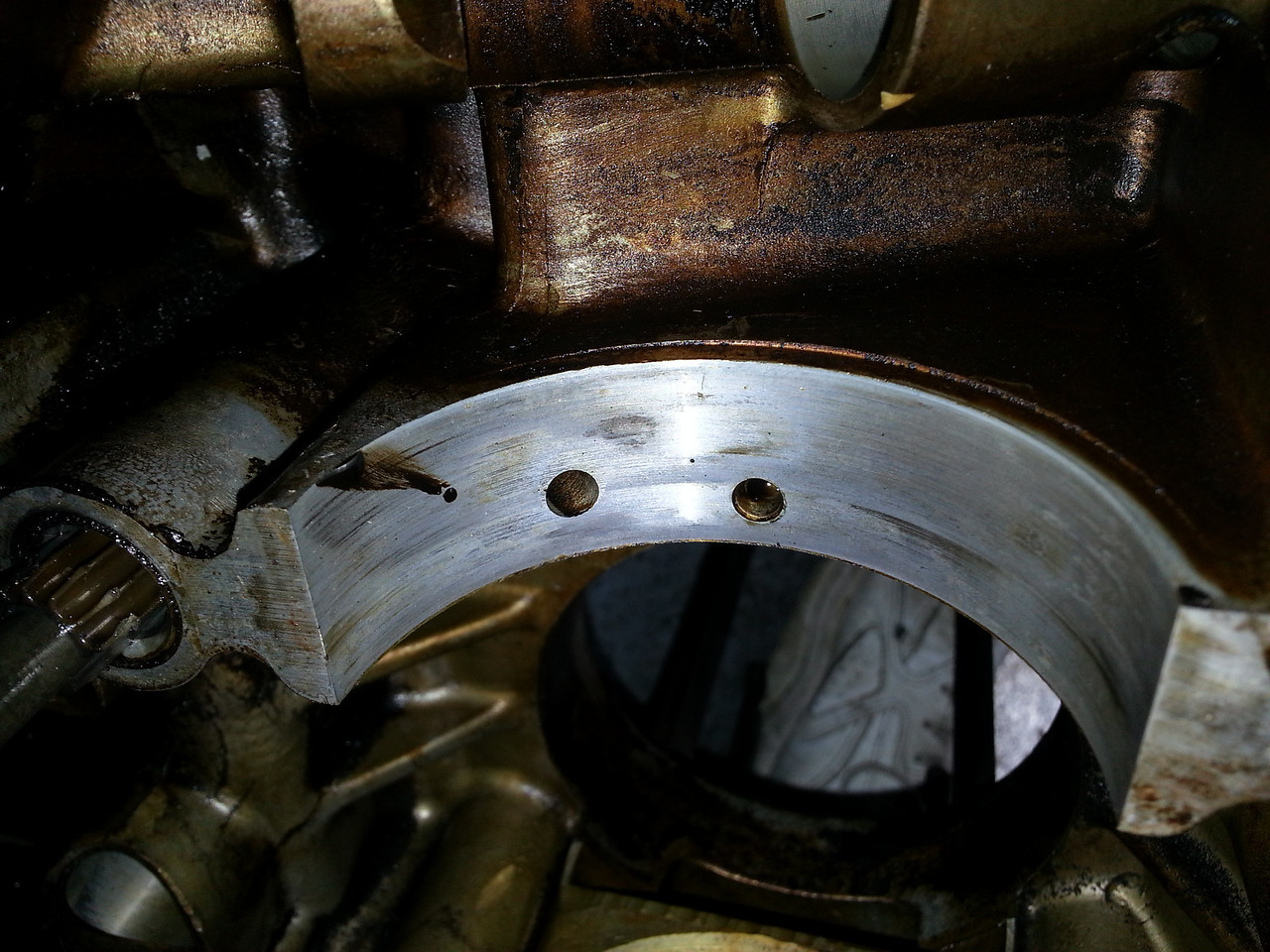 Left Hand #3 bearing rear view