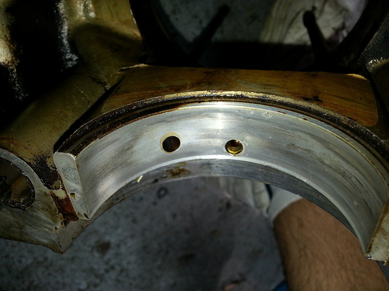 Left Hand #1 bearing rear view