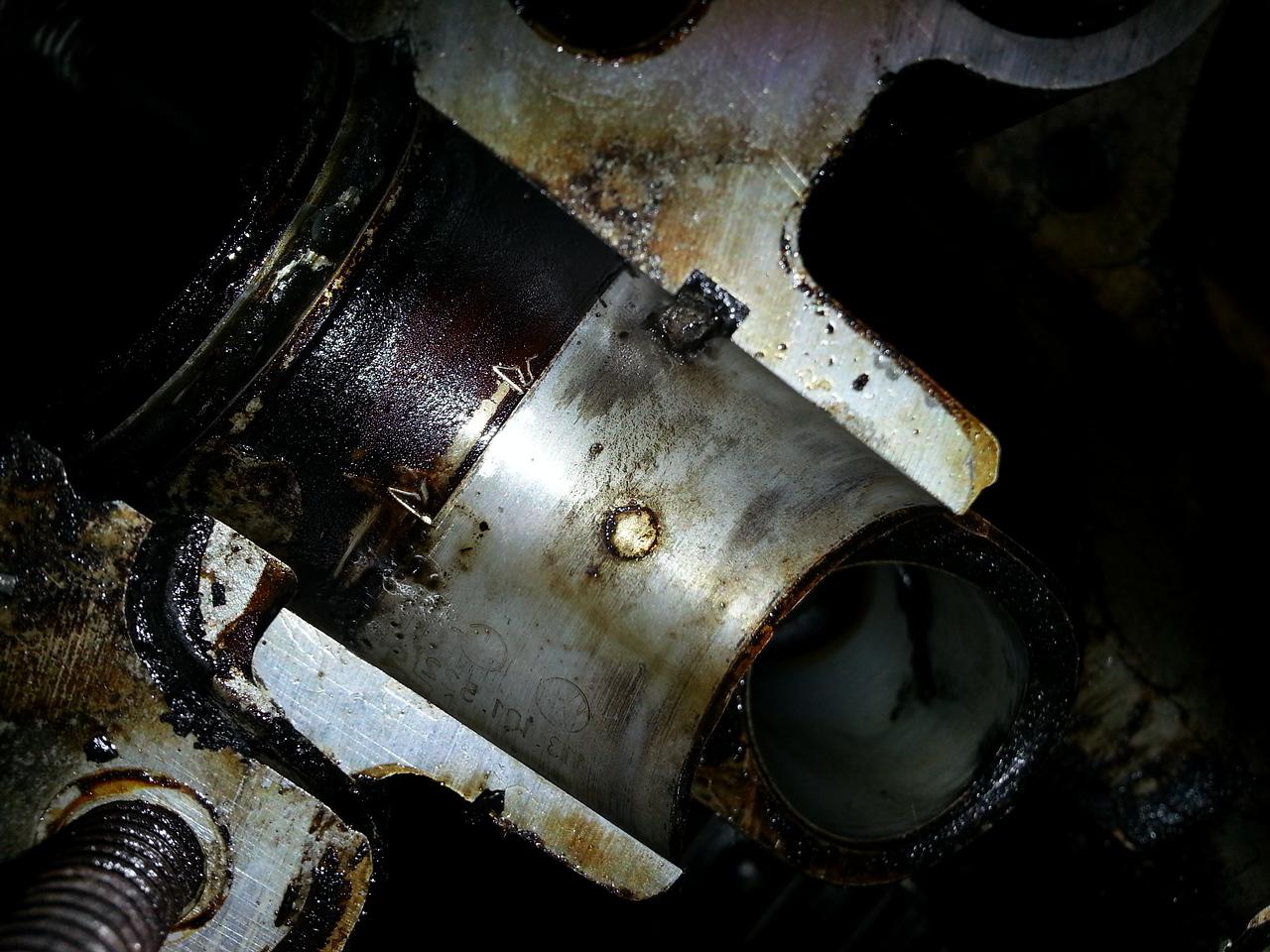 Right Hand #1 cam bearing