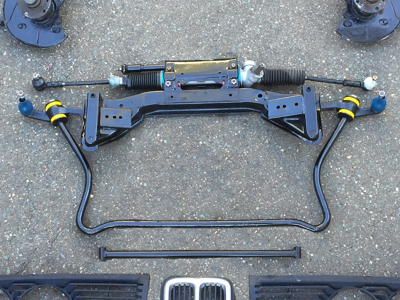 E21 Front Suspension Assembly