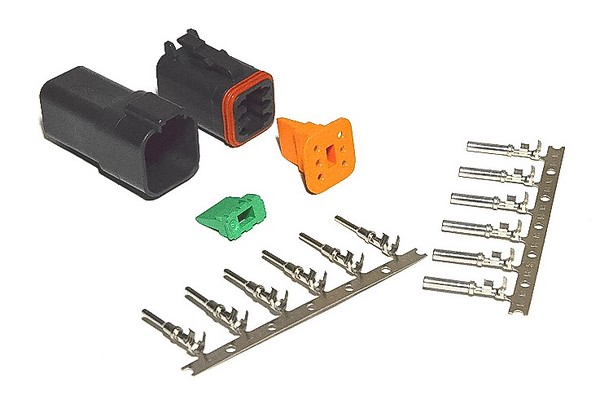The Deutsch DT connector kit from Amazon.