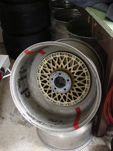 Spares: original wheels