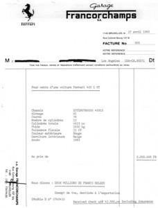 Original Invoice 1983
