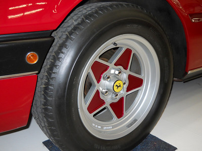 Wheels painted by Ferrari