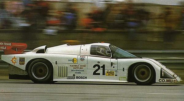 Porsche 962 Le Mans winner 1986.