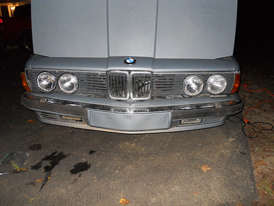 735i grille and lights
