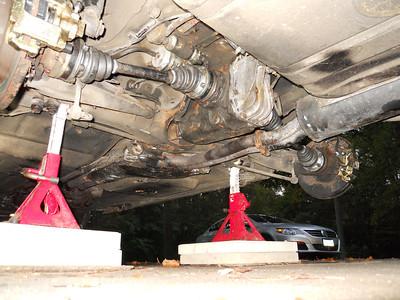Rear install