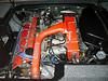 Well maintained and clean engine compartment.