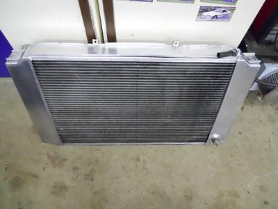 Aftermarket custom radiator