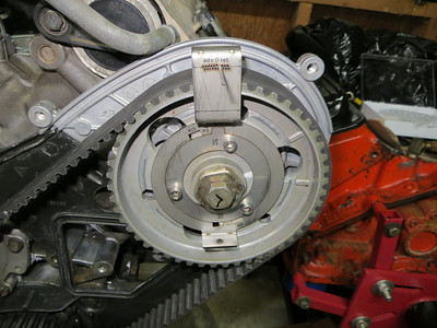 Front main seal and cam timing