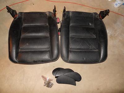 New black seats - reassembling