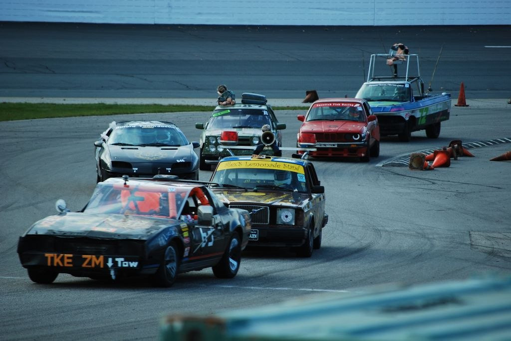 Over 120 cars started - traffic was intense!
