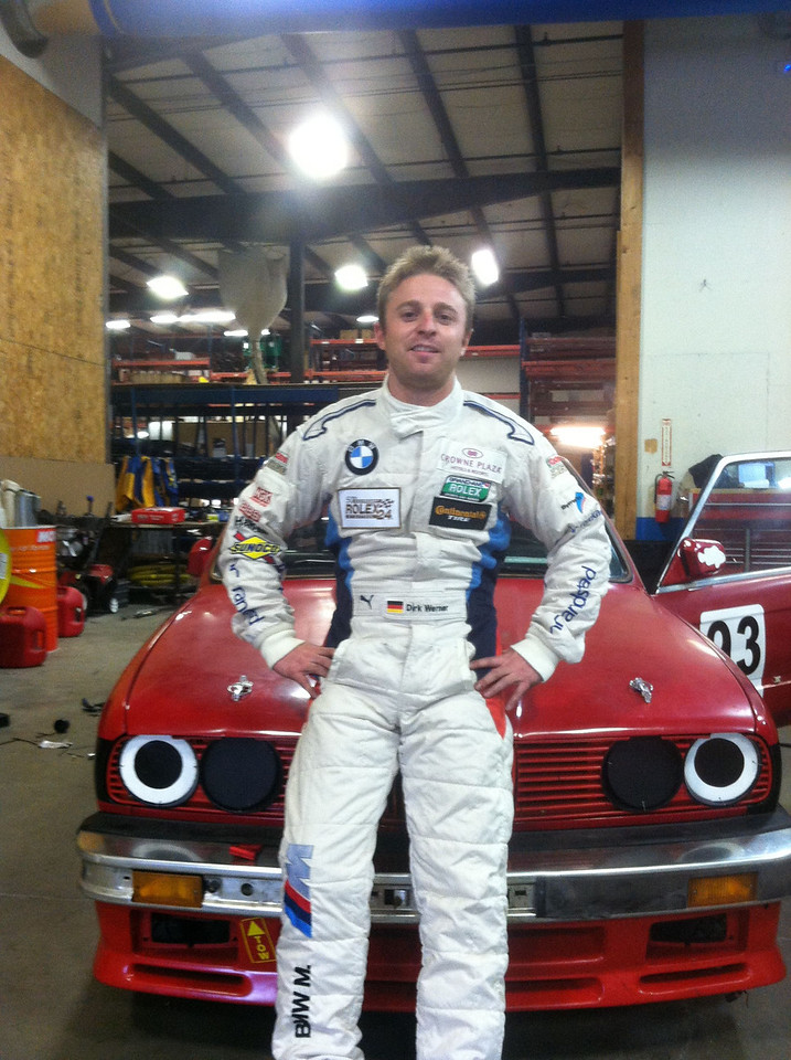 Sweetish Race Driver Dirk Werner (Jay Baier).