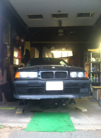 E36 Front Axle and Subframe Overhaul