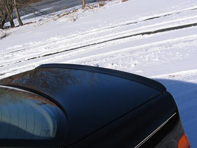 December, 2006? The E39 M5 lip spoiler.