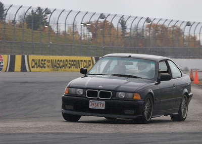 October, 2008. On track at New Hampshire Motor Speedway.