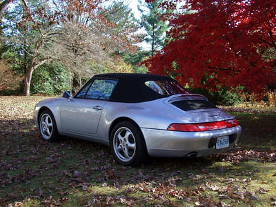 1995 Porsche 993 Cabriolet, all original, low mileage