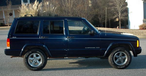 1997 Jeep Cherokee Country 4x4