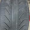 Rear tire edge wear