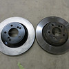 Rear brake rotors