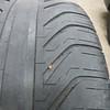 Nail in rear tire