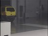 Crash Test 2001 Nissan Xterra ( 5 M P H) Rear into Flat Barrier IIHS
