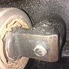 Right control arm front bushing