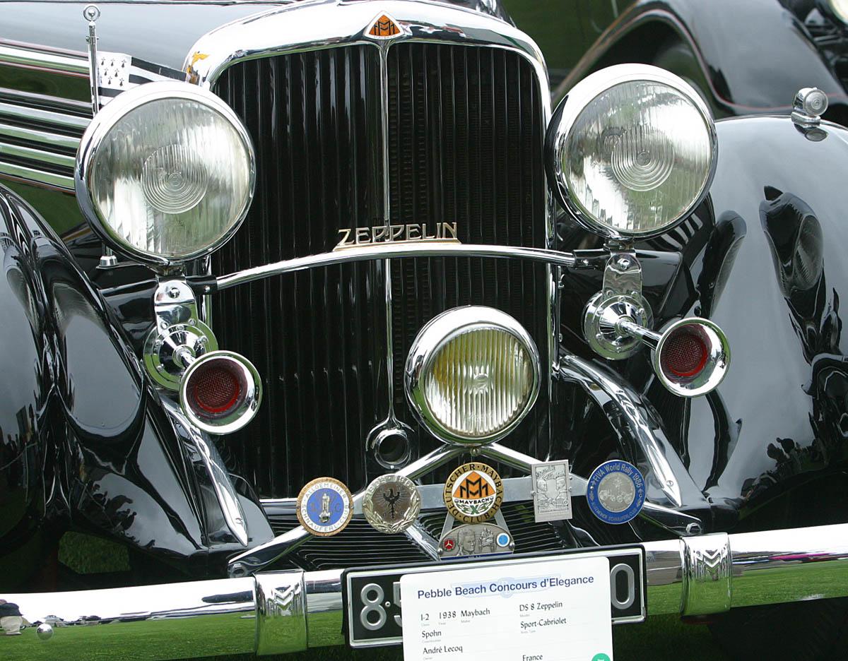 1938 Mayback DS 8 Zepplin