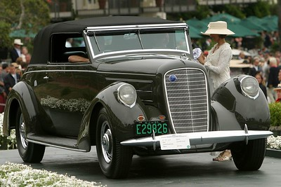 1937 Lincoln Model K Brunn Convertible Victoria
