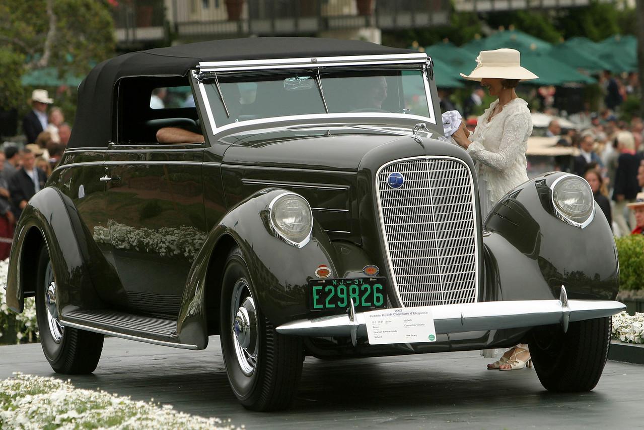 1937 Lincoln Model K Brunn Convertible Victoria