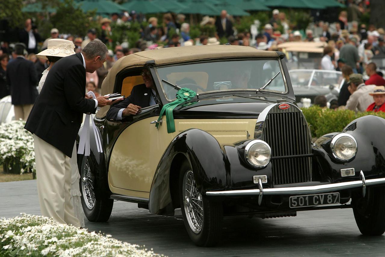 1937 Bugatti Type 57S Van Vooren Cabriolet