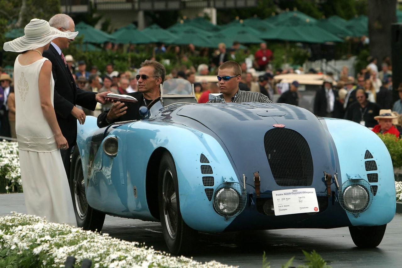 1936 Bugatti Type 57G Racer