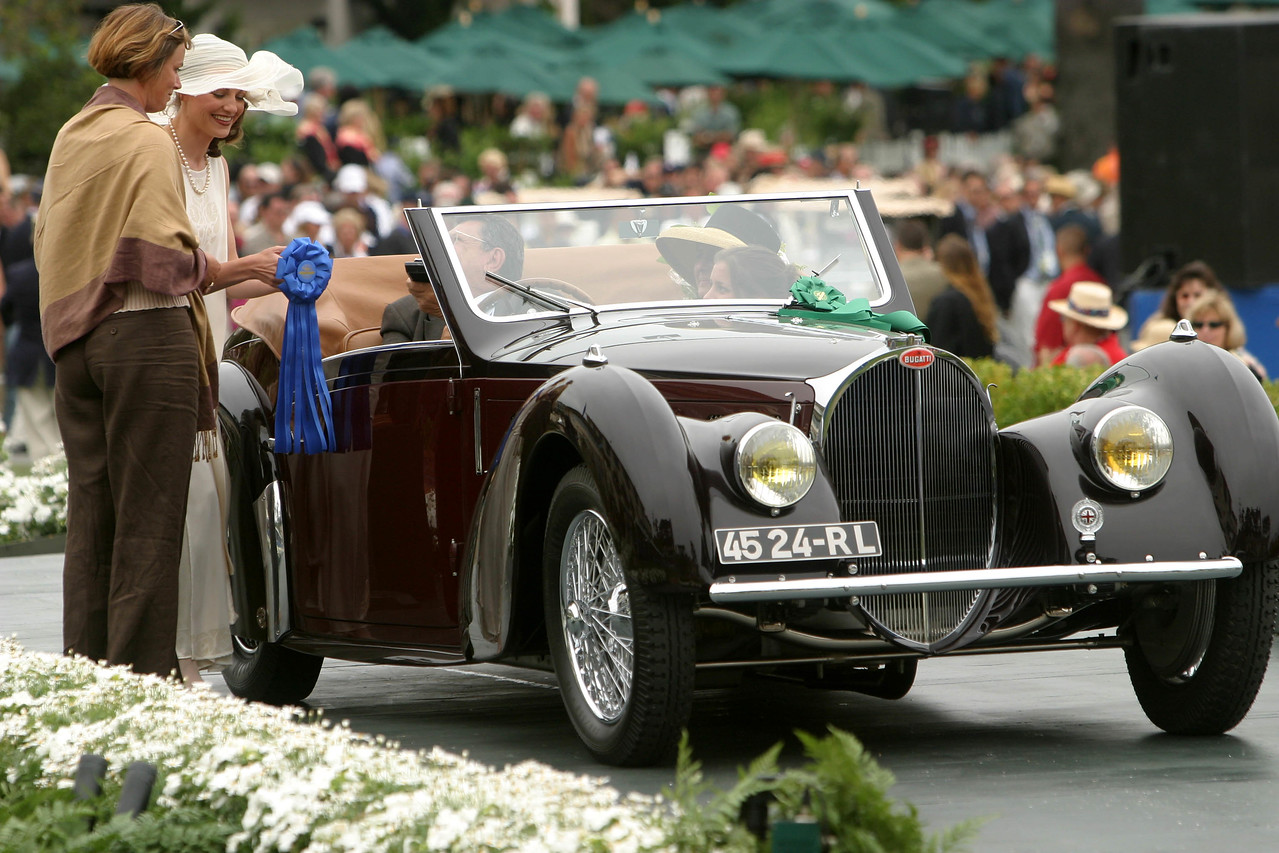 1938 Bugatti Type 57S Gangloff Cabriolet