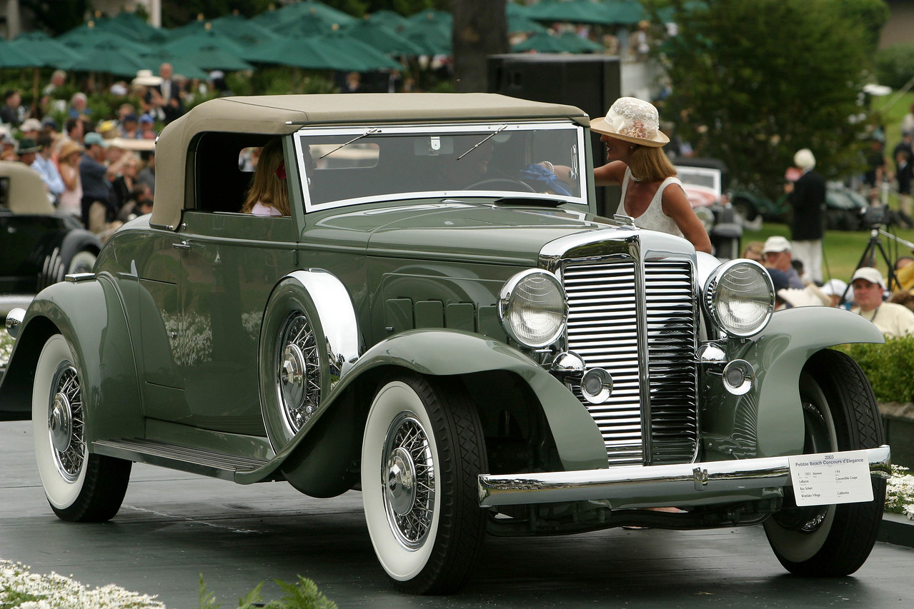 1931 Marmon 144 LeBaron Convertible Coupe