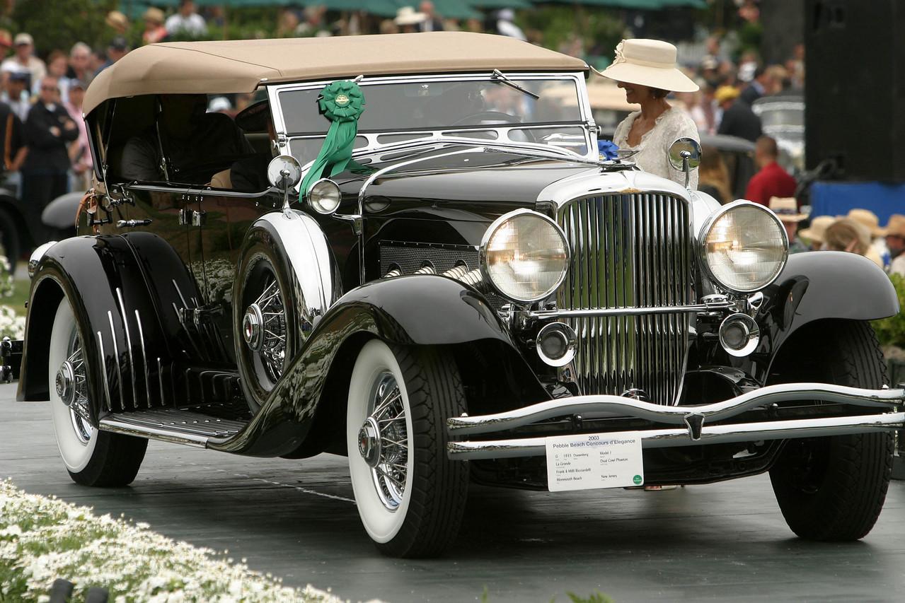 1935 Duesenberg Model J La Grande Dual Cowl Phaeton