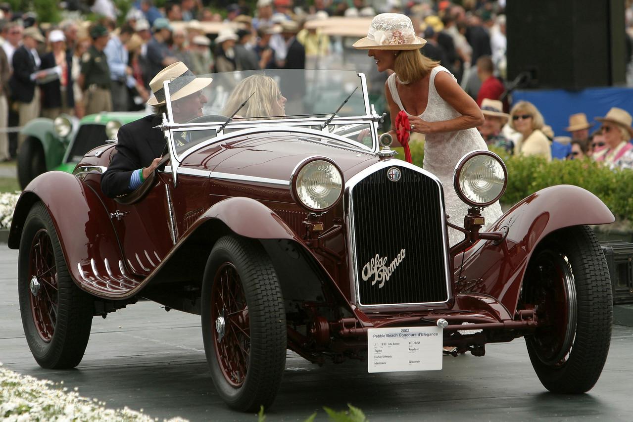1933 Alfa Romeo 8C 2300 Zagato Roadster