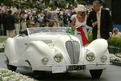 1937 Delahaye 135 MS Figoni et Falaschi Roadster