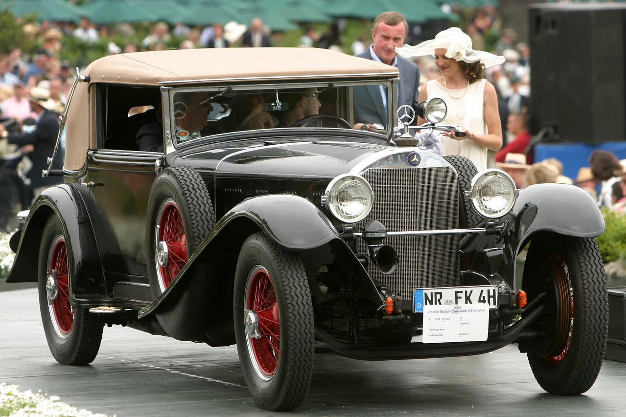1929 Mercedes SS Cabriolet