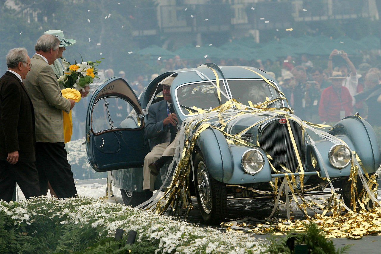 1935 Bugatti Type 57SC Atlantic -- Best of Show