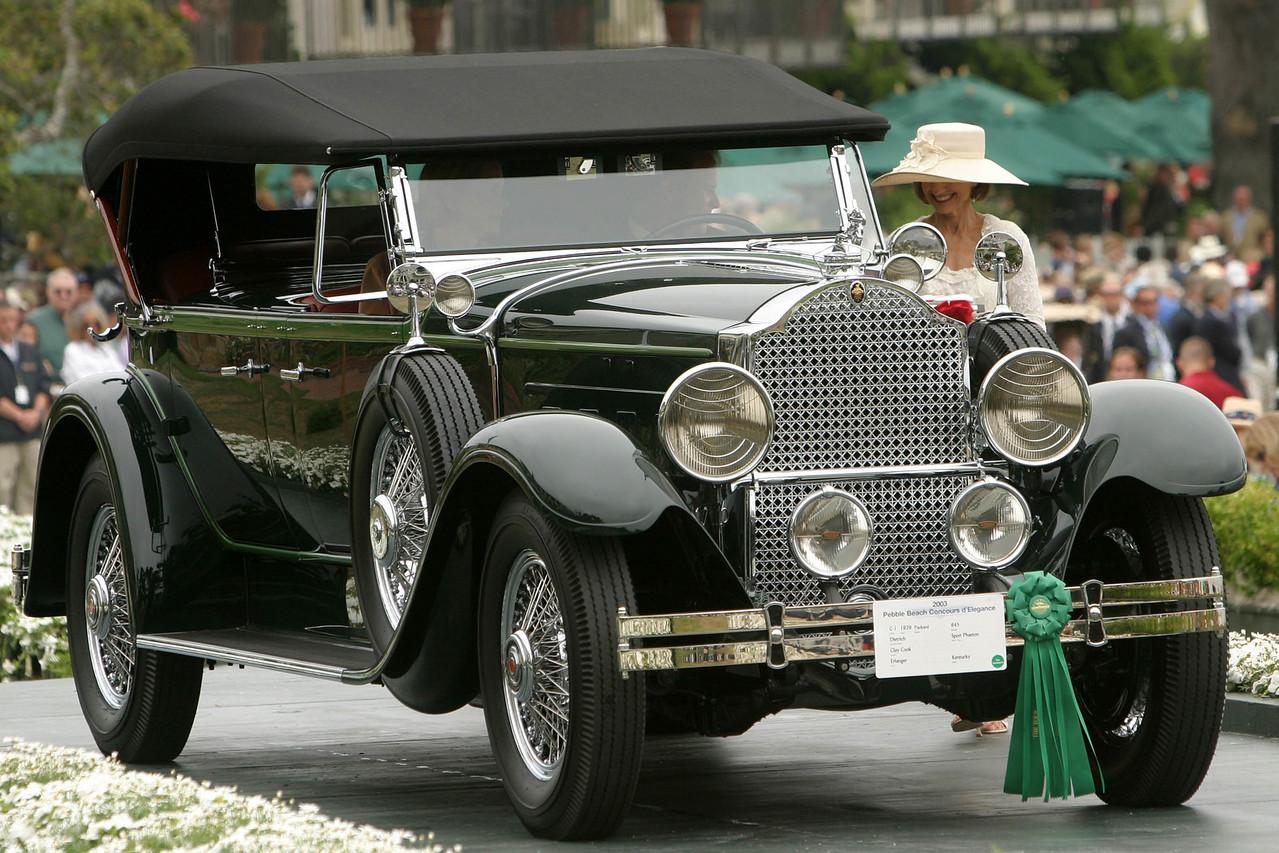 1929 Packard 645 Dietrich Sport Phaeton