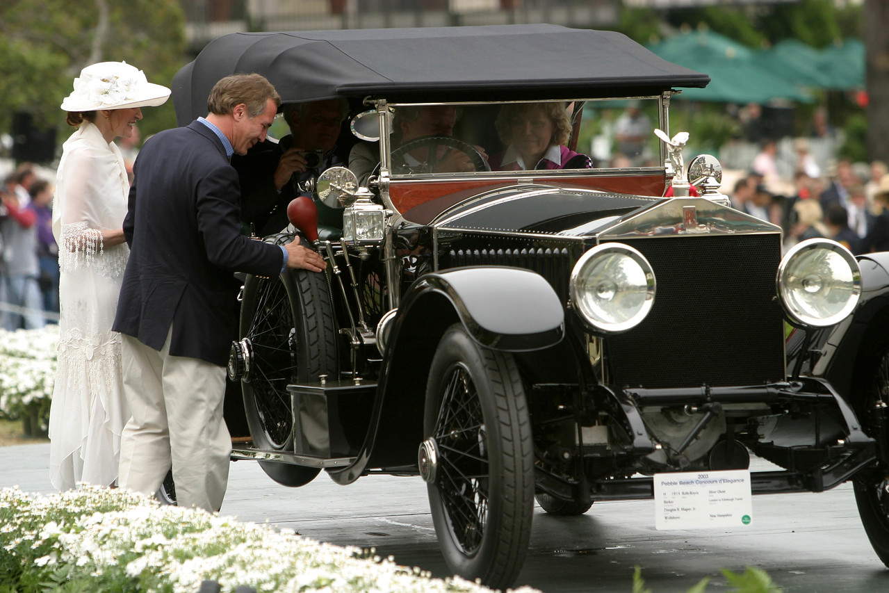 1914 Rolls-Royce Silver Ghost Barker London to Edinburgh Tourer